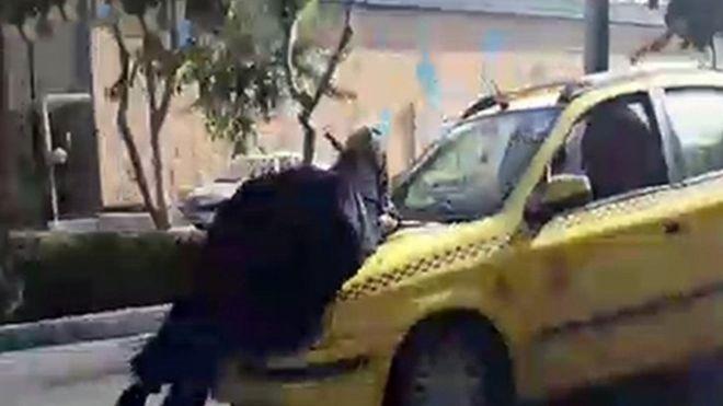 بازداشت راننده تاکسی جنجالآفرین دراصفهان